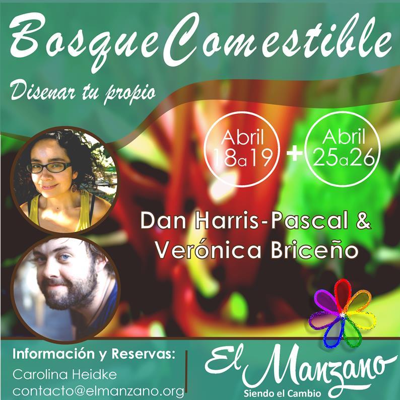 Afiche Bosques Comestible 2015