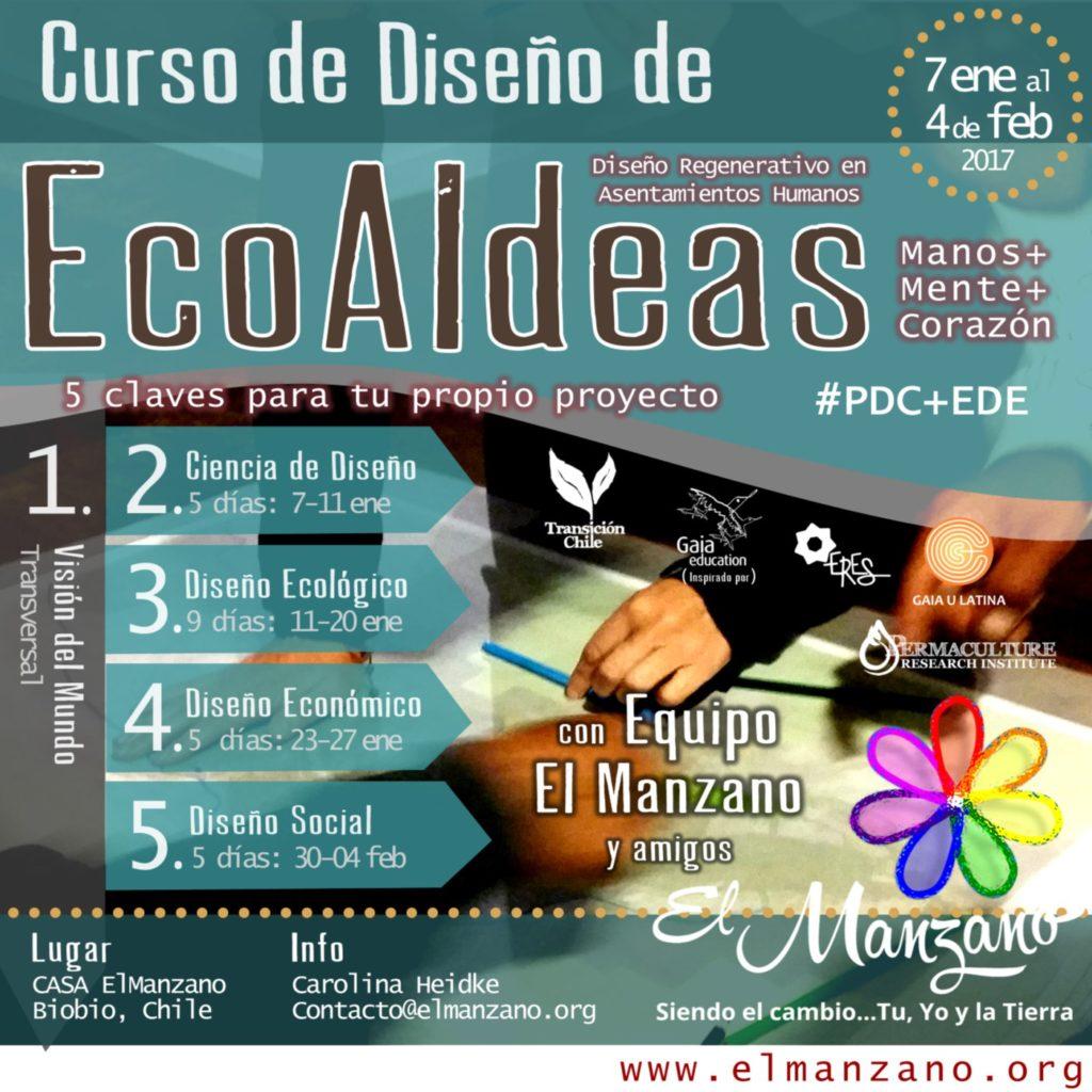 Ecovillage el manzano for Curso de diseno de jardines