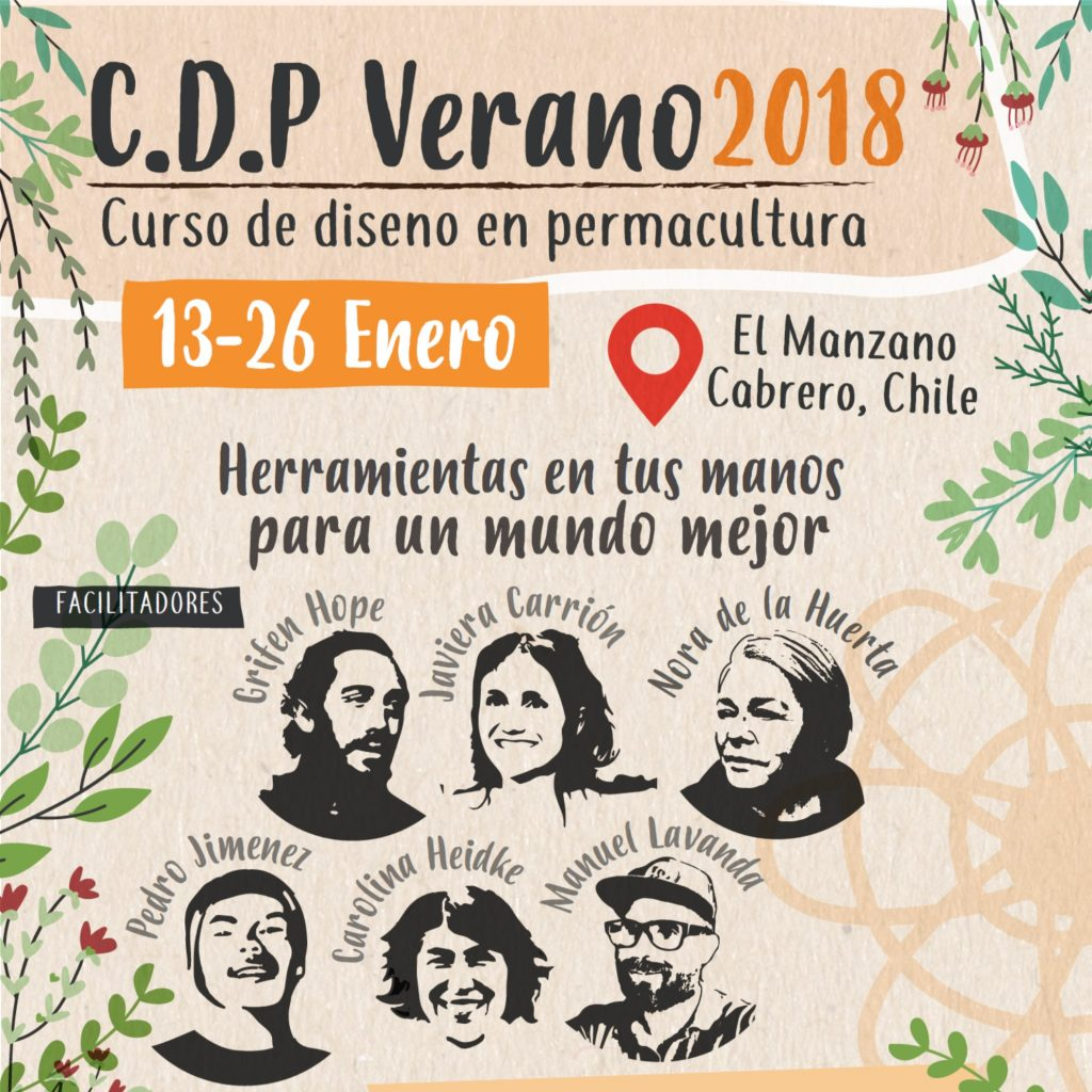 Curso: Diseño en Permacultura Verano 2018